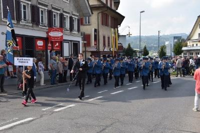 Parademusik Neuuniformierung Feldmusik Hochdorf, 24.9.2017